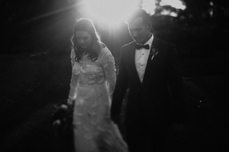 black and white wedding photo bowral