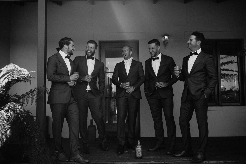 groomsmen south coast wedding photographer