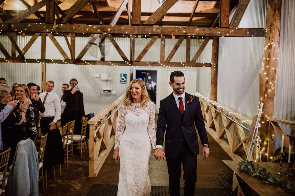 bridal entrance the woolshed yallah